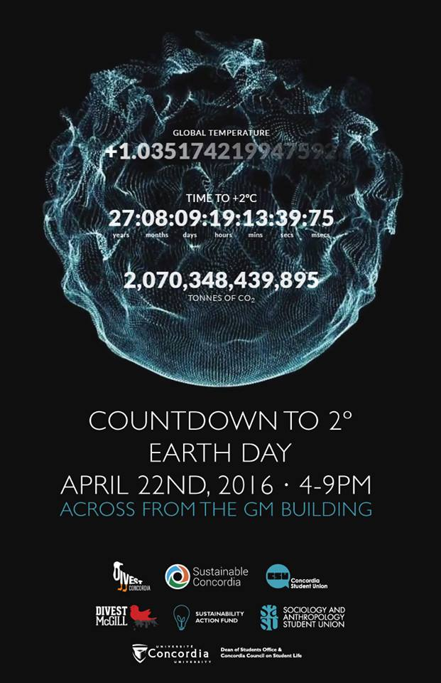 Countdown 2 Climate Clock