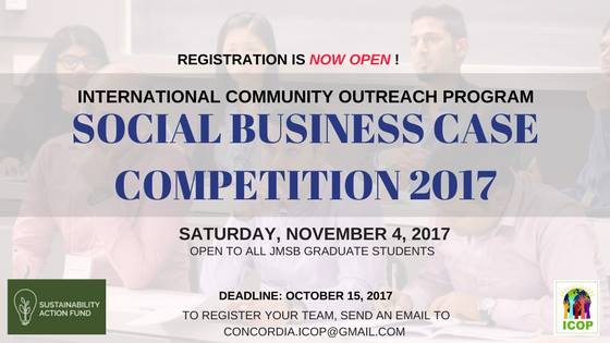 ICOP Social Business Case Competition