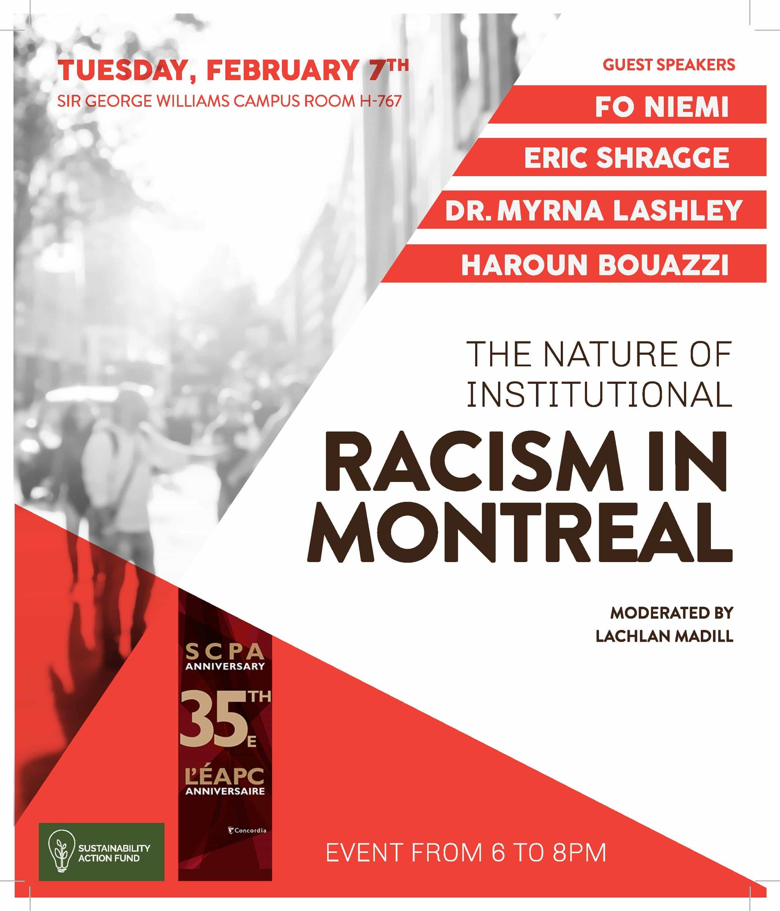 Nature of Institutional Racism in Quebec